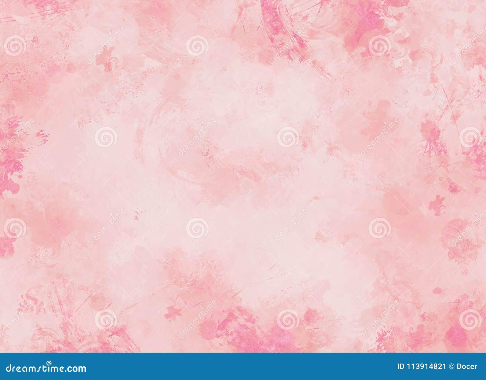 Fondos Del Rosa En Colores Pastel Stock De Ilustración
