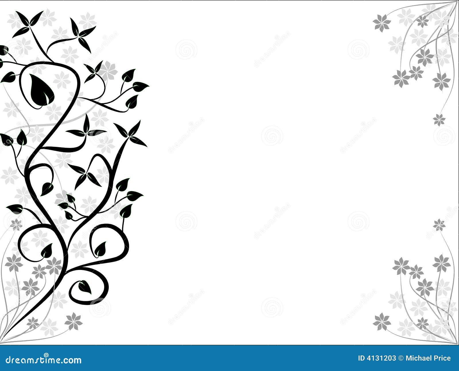 Fondos florales blancos y negros fotos de archivo imagen for Fondo blanco wallpaper