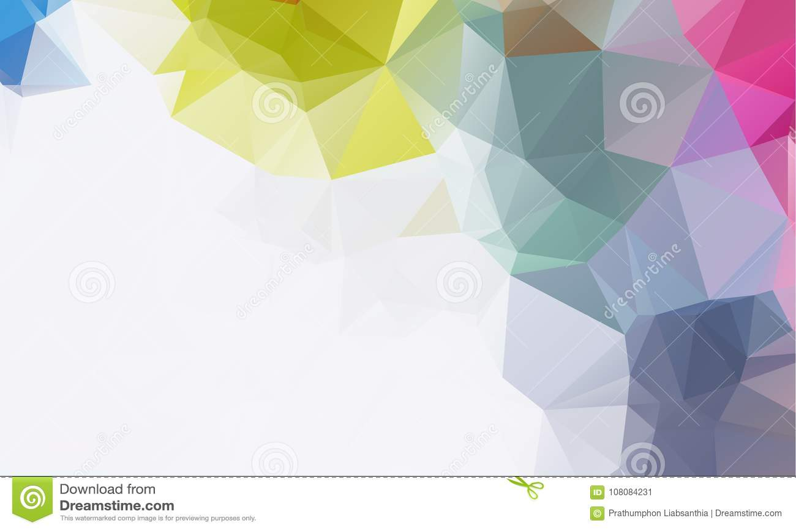 Fondos Geométricos Abstractos A Todo Color Ilustración