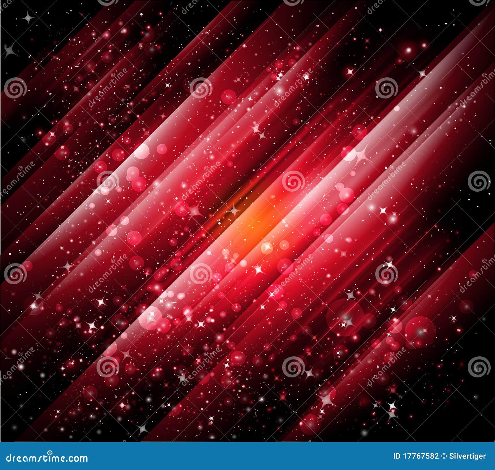 Fondos rojos abstractos
