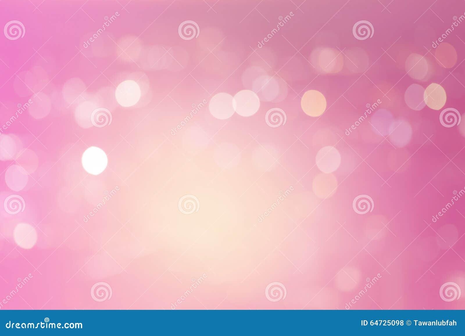 Fondos rosados de la luz del extracto del bokeh