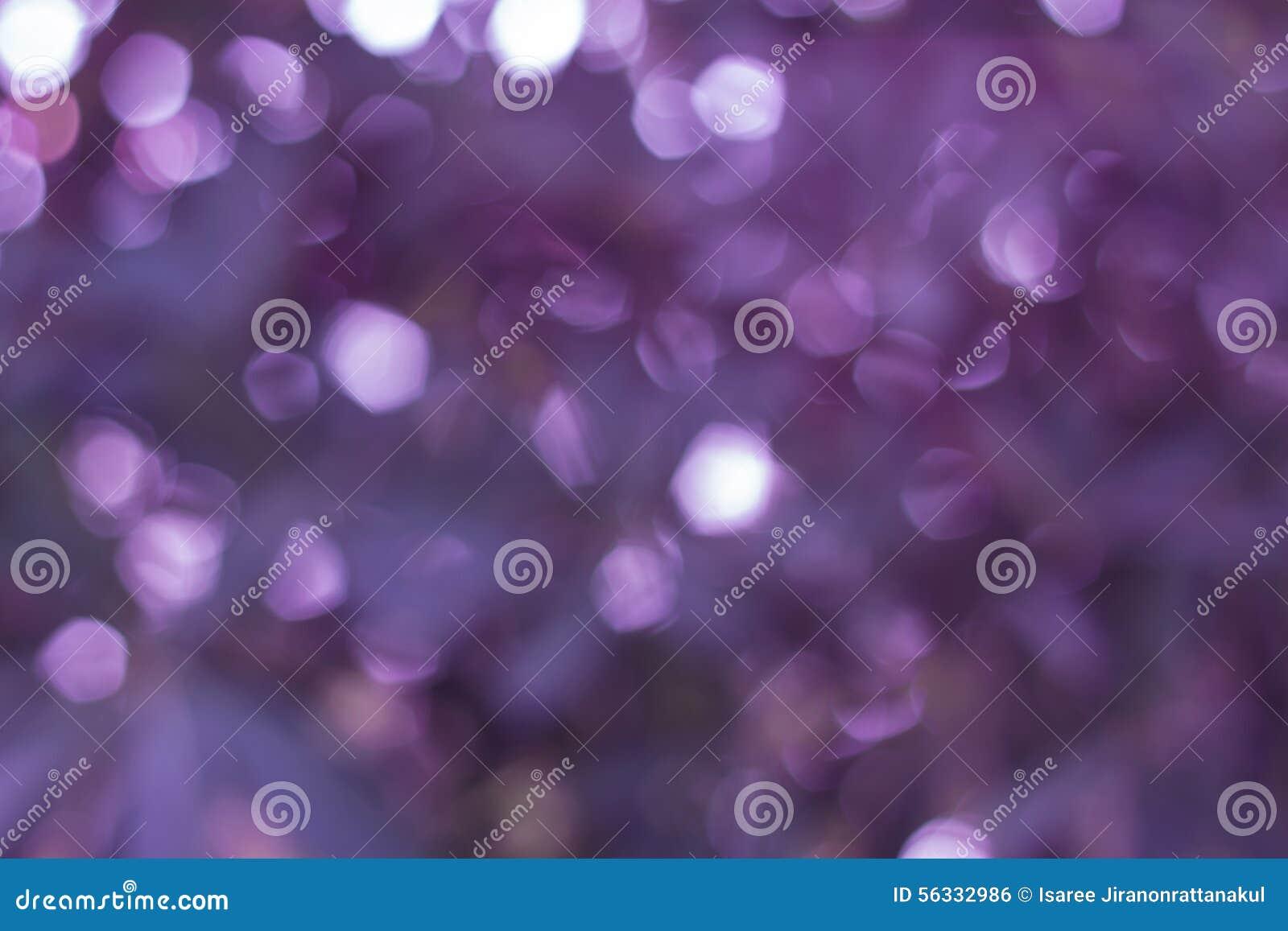 Fondos violetas de la luz del extracto del bokeh, luces borrosas