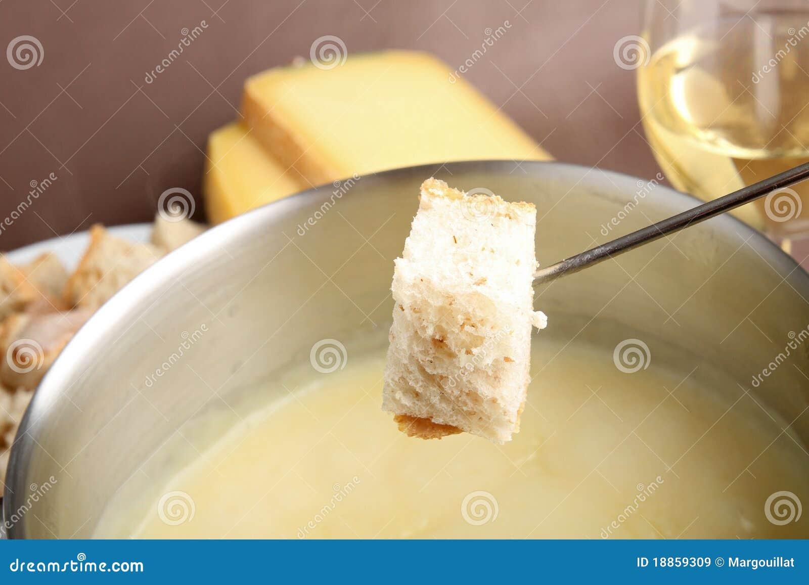 Fondue de fromage
