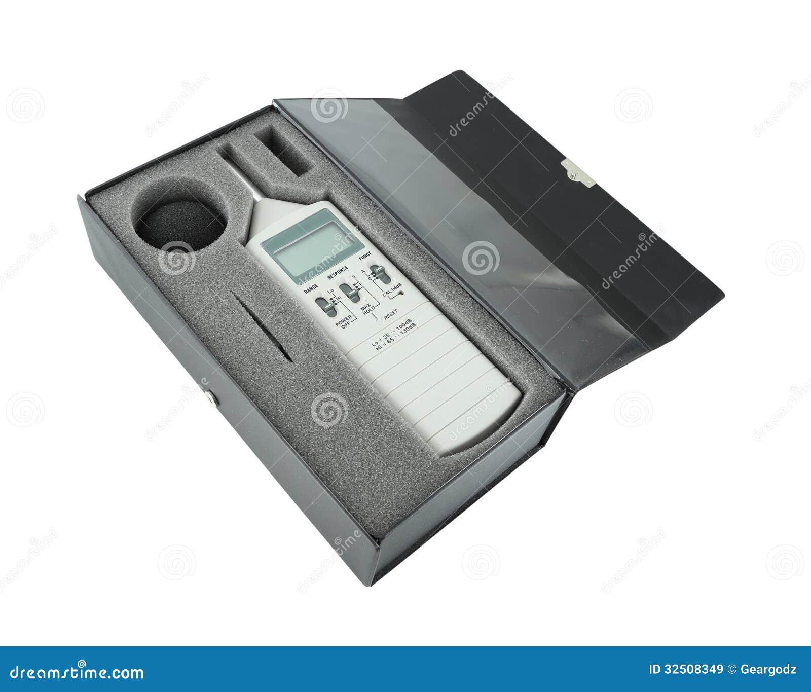 Fonometro in scatola