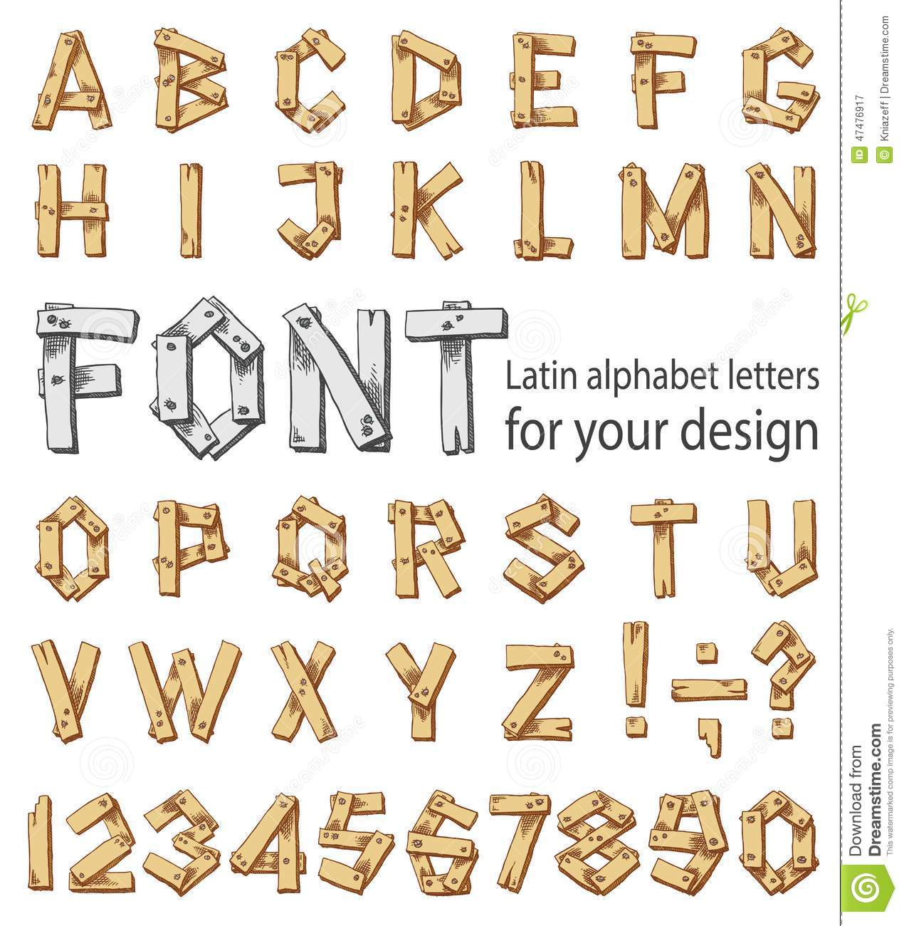 Font consisting of the latin alphabet and digits stock vector download font consisting of the latin alphabet and digits stock vector illustration of style thecheapjerseys Images