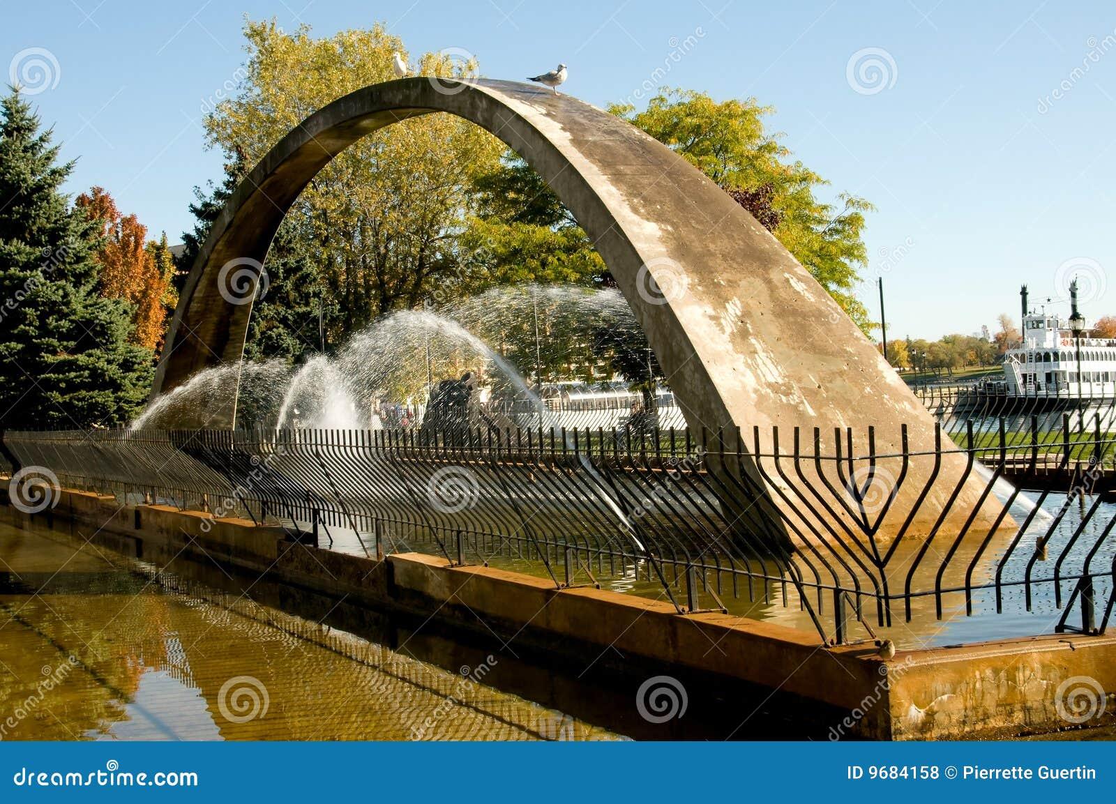 Fontaine de confédération de voûte