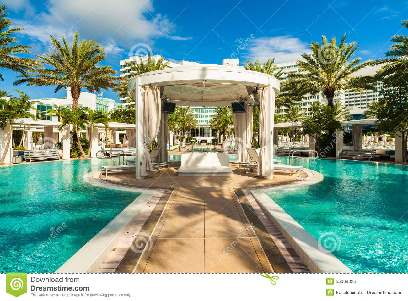 Fontainebleau Hotel Editorial Image Image Of Design 55008325