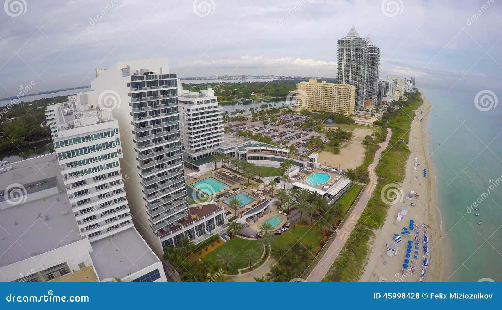 Fontainebleau Hotel Miami Beach 4k Stock Footage Video Von Punkt