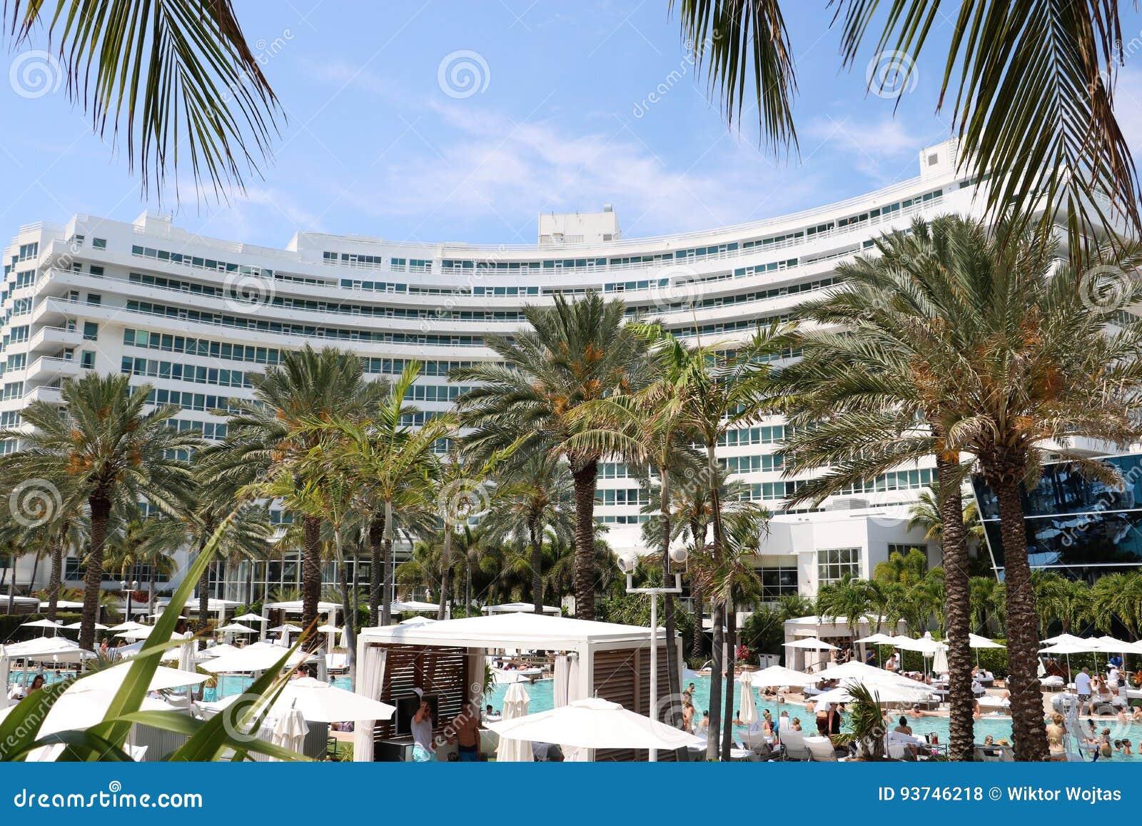 Fontainebleau Miami plaża