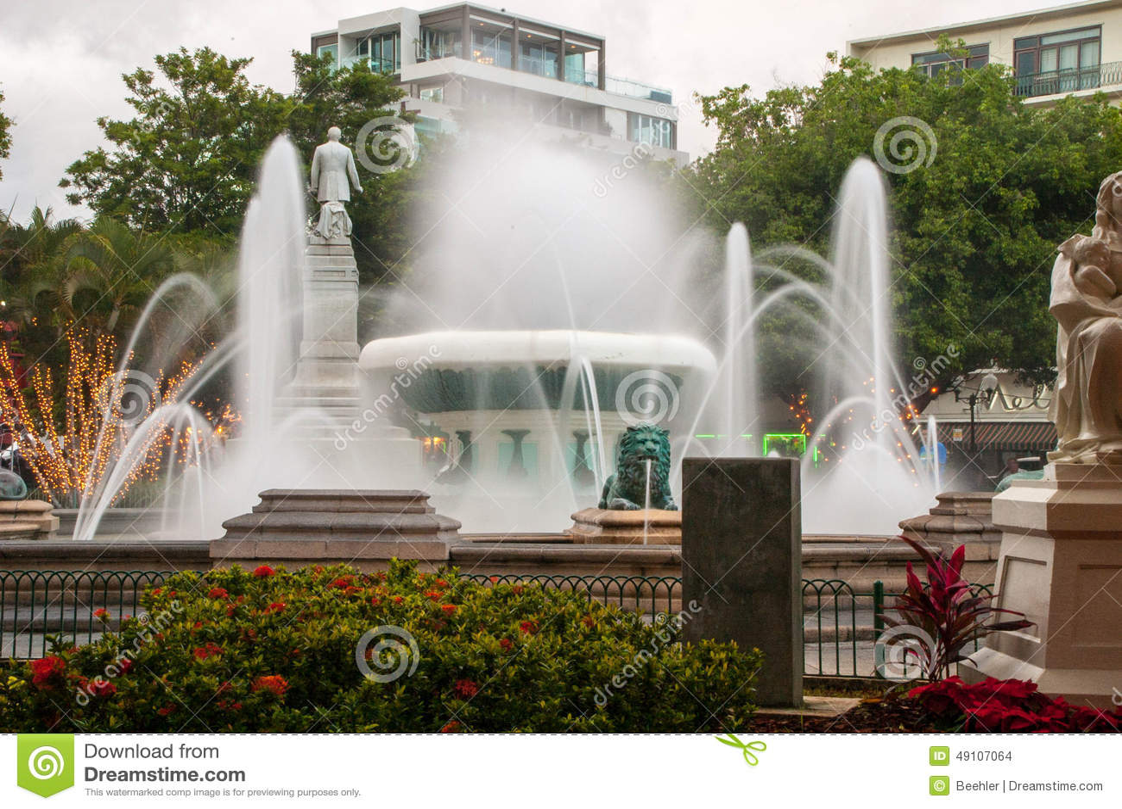 Fontaines de maquereau