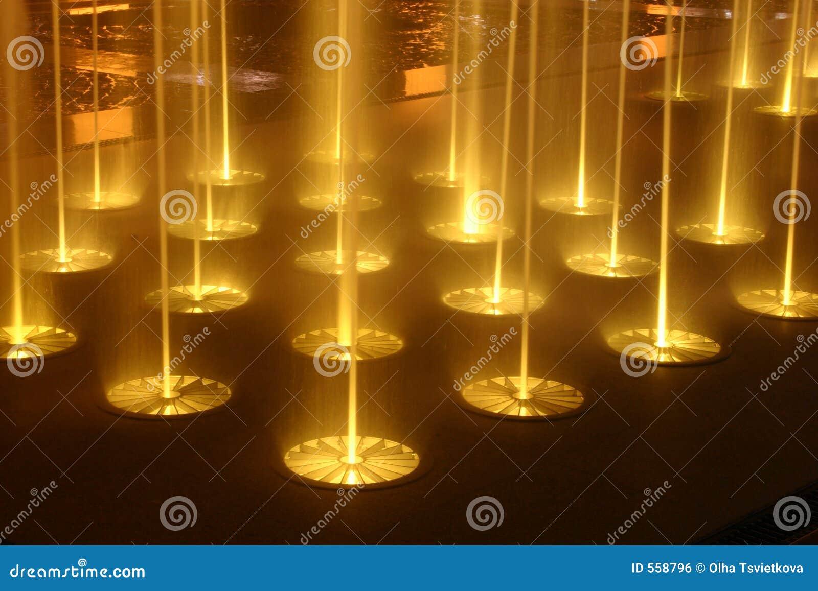 Fontaines de nuit horizontal