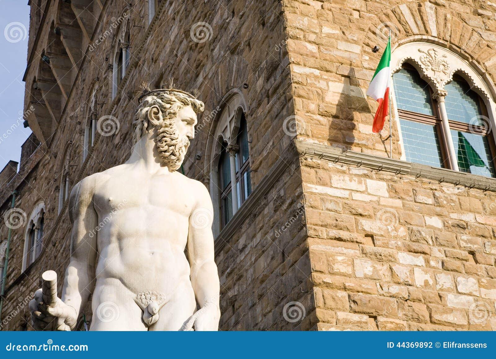 Fontana di Nettuno, Firenze, Italia