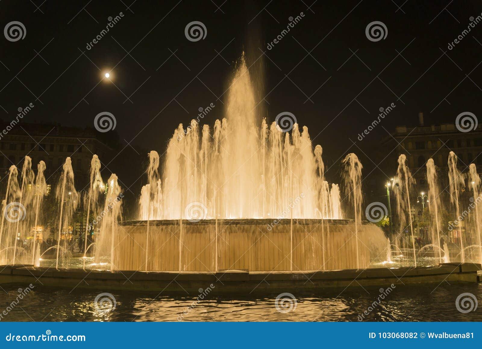 Fontana di Sforza Castel