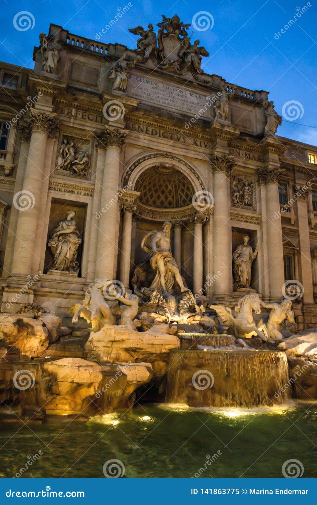 Fontana di Trevi, Rome, Italie