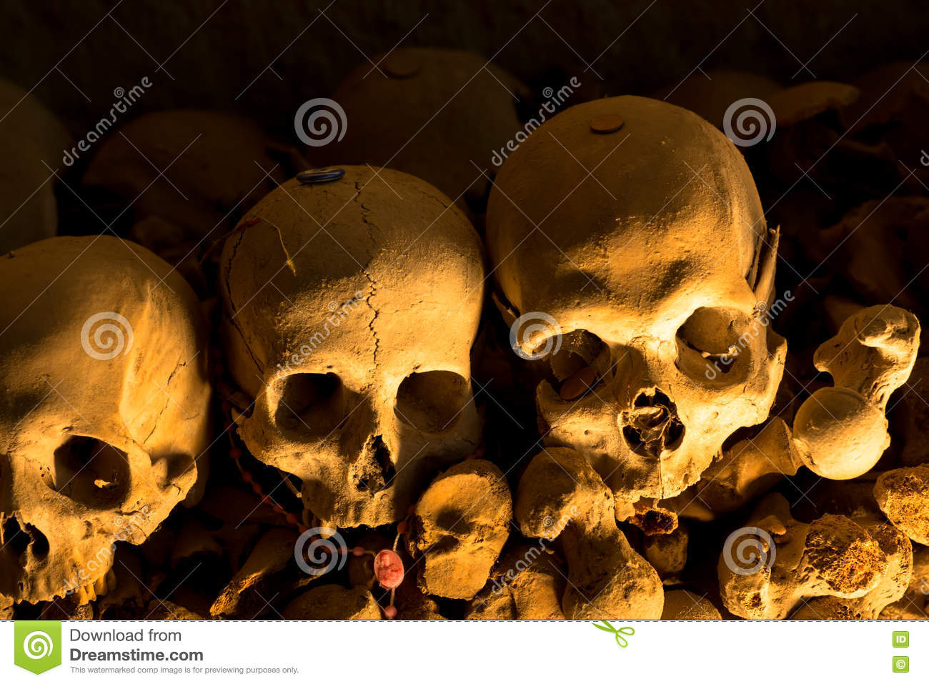 Fontanel Cemetery In Naples Italy Stock Photo Image Of Italy