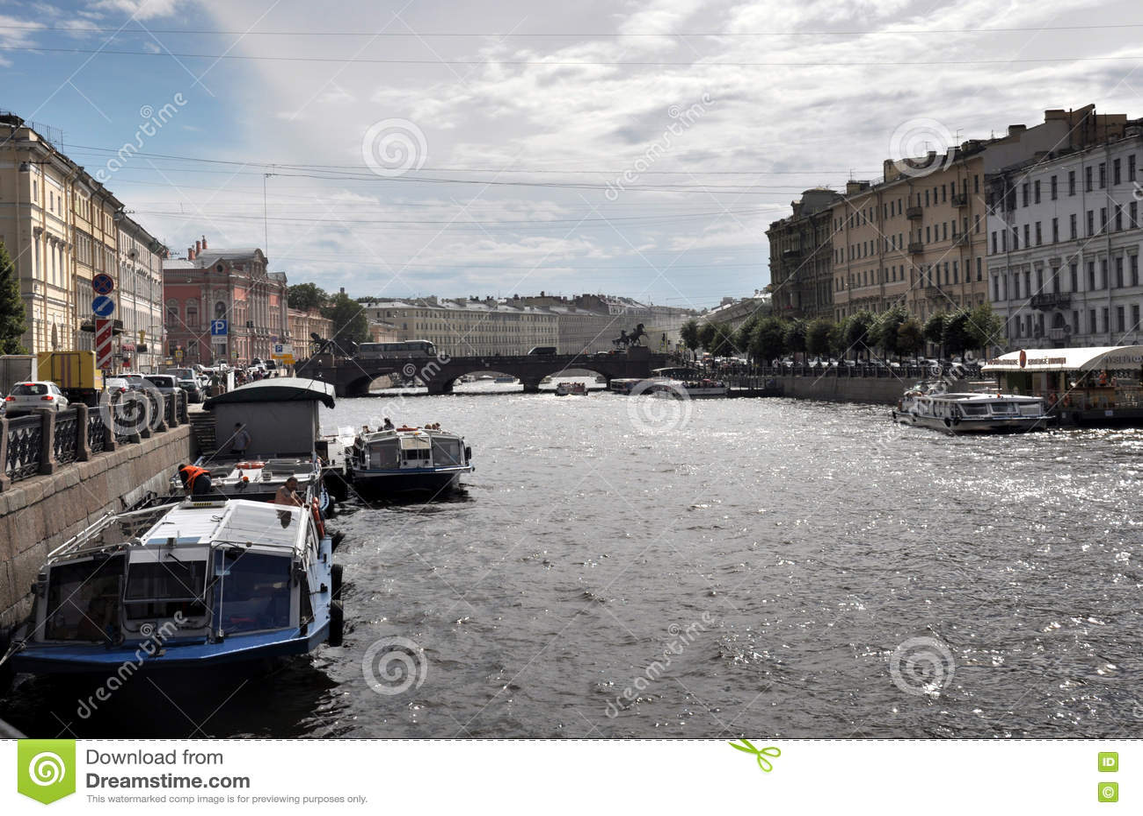 Fontanka flod