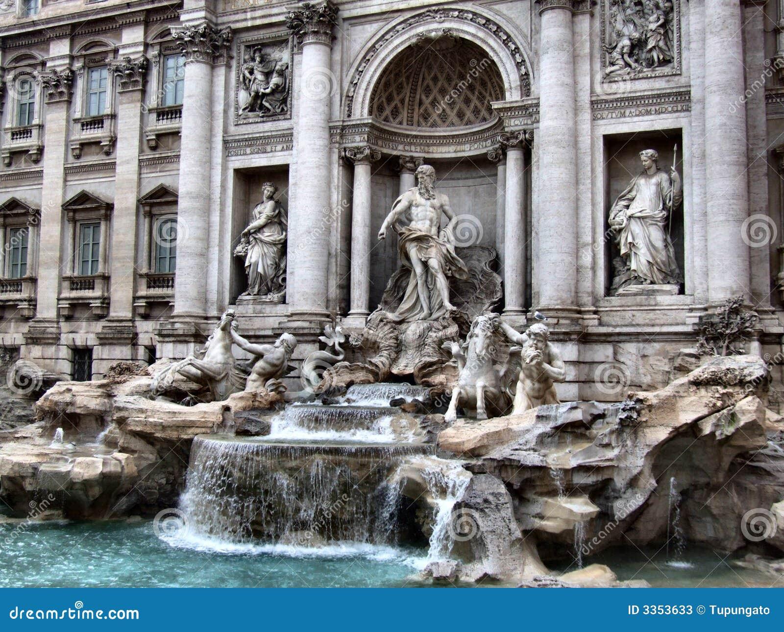 Fontanna di Trevi em Roma
