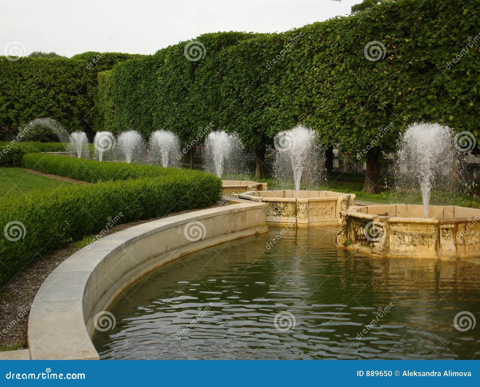 Fontanna ogrodów longwood pa