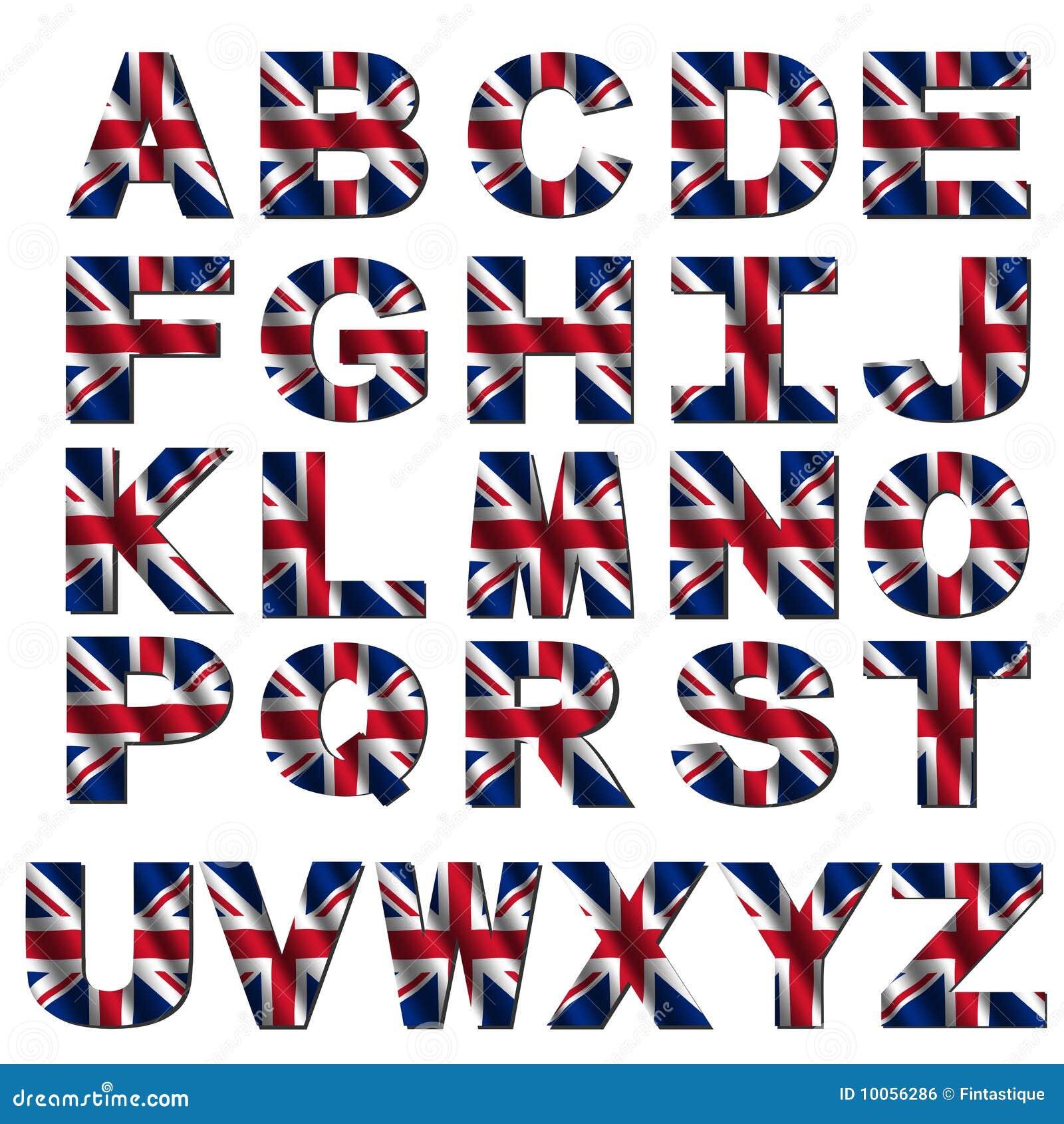 Fonte britannique d 39 indicateur illustration stock - Uk flag images free ...