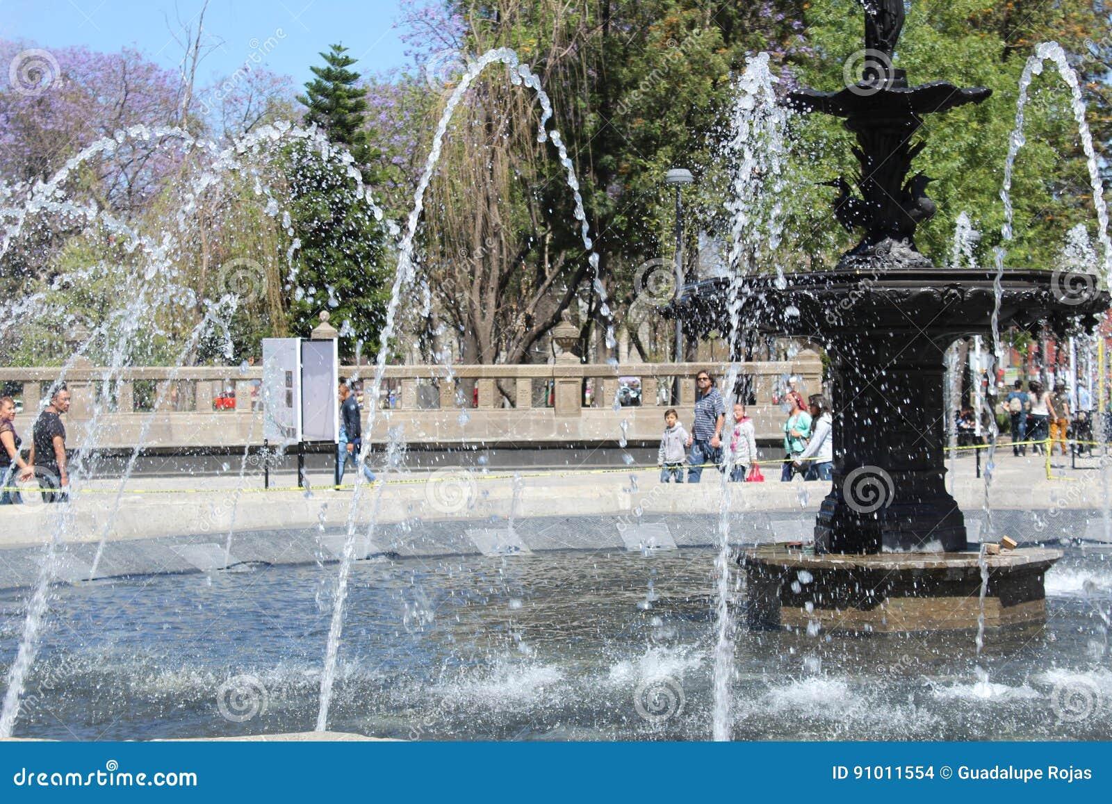 Fonte in Città del Messico