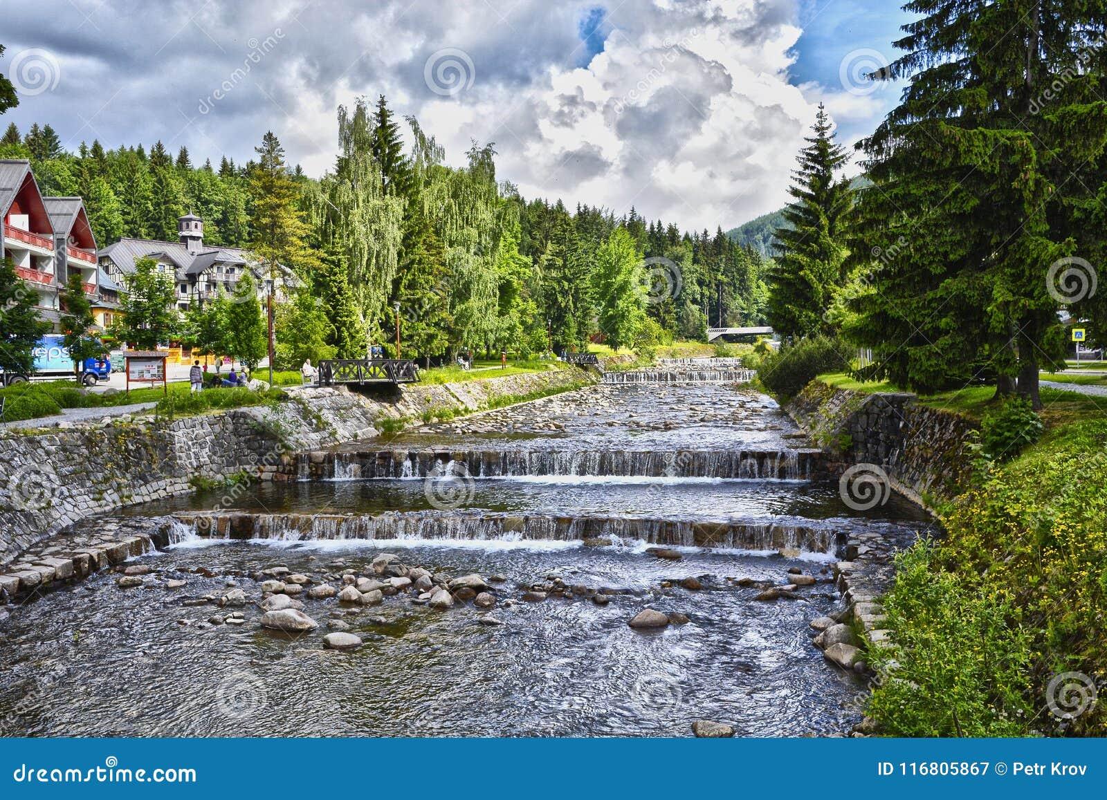 Fonte del fiume Elba