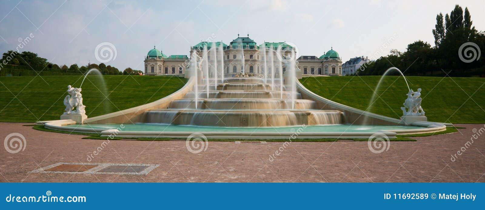Fonte do castelo do Belvedere