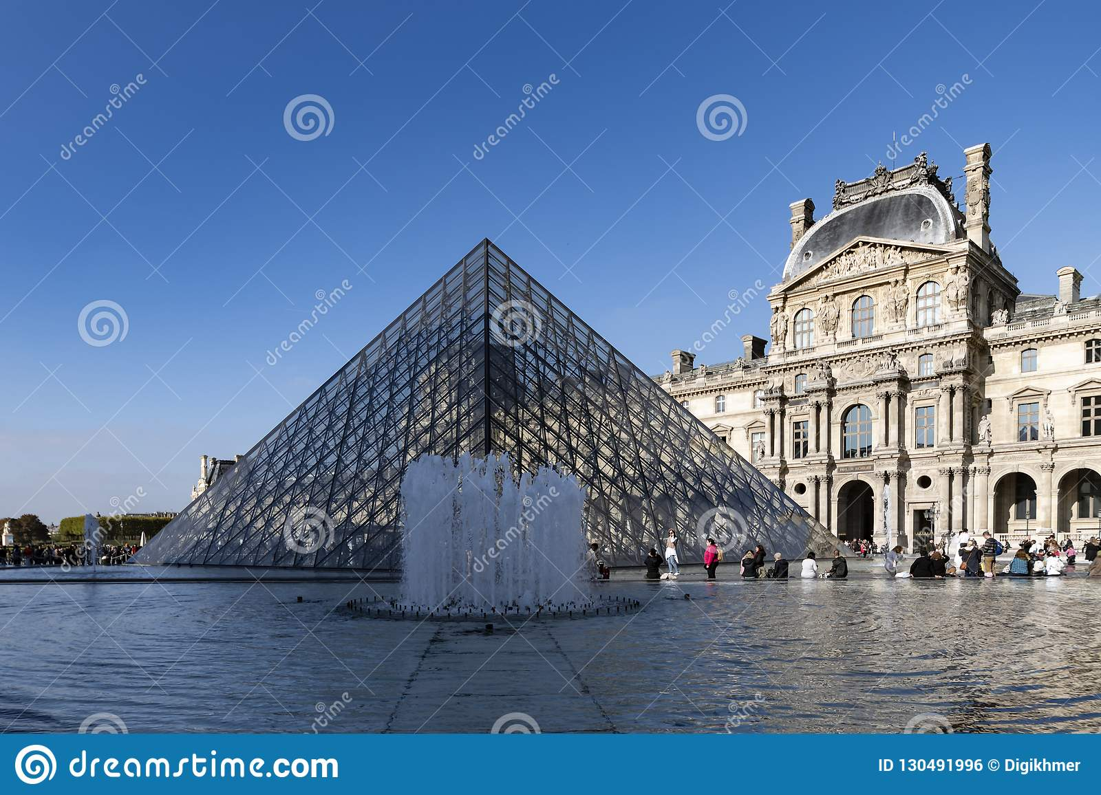 Fonte do museu do Louvre