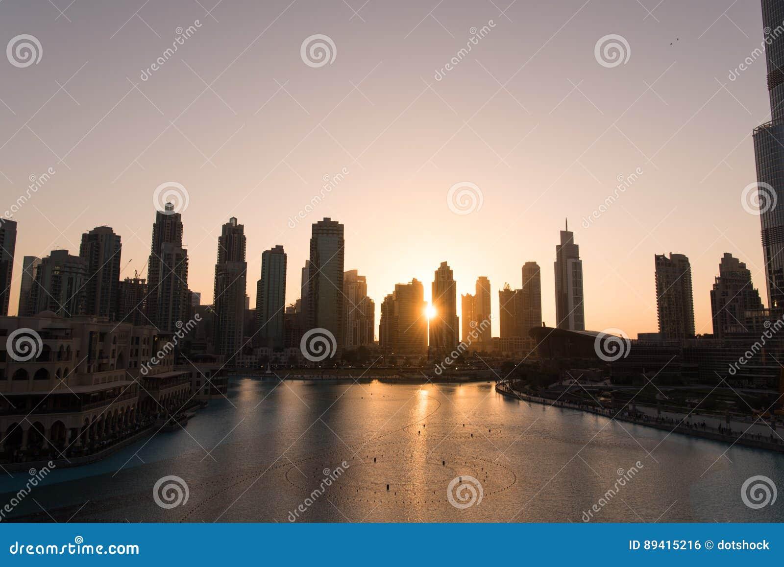 Fonte musical em Dubai