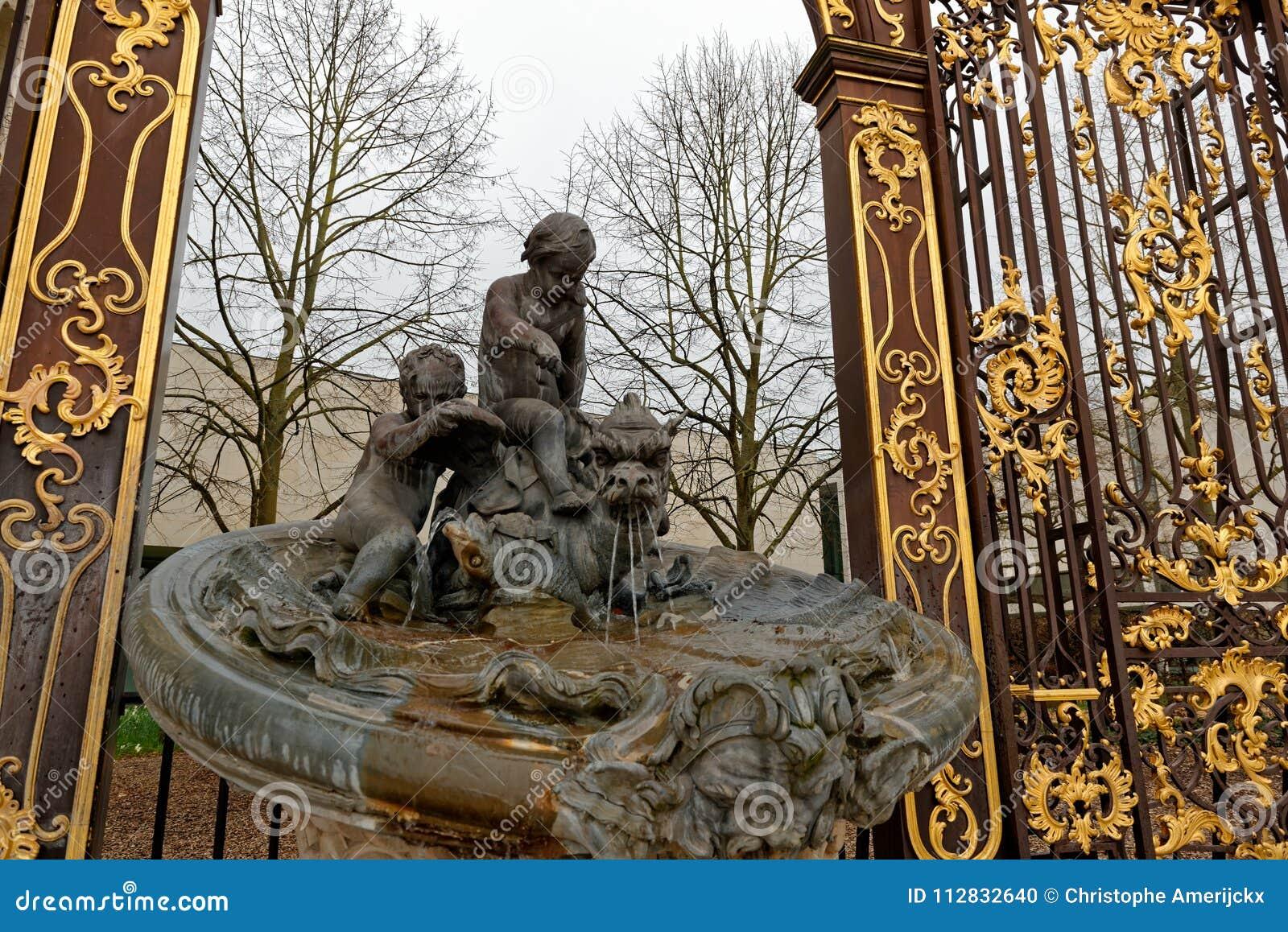 Fontein op Stanislas Place in Nancy