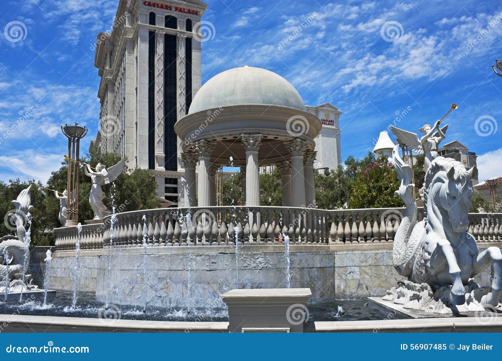 Fonteinen de stijl van van Rome, Las Vegas