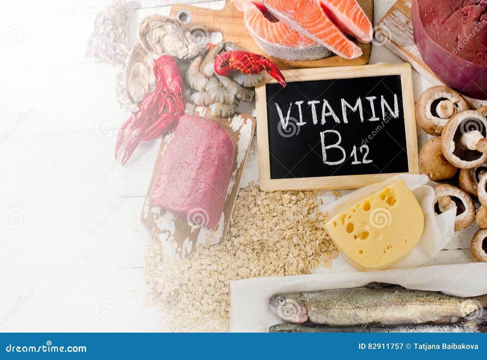 Fontes da vitamina B12