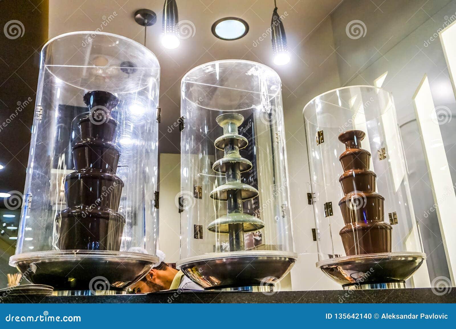 Fontes de derretimento do chocolate