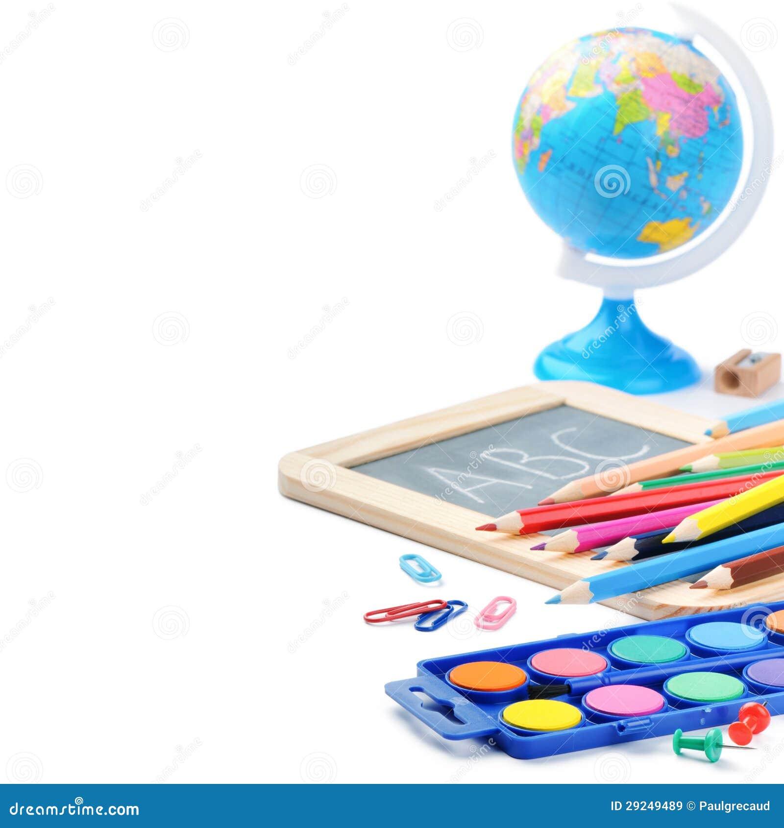Download Fontes de escola coloridas imagem de stock. Imagem de infância - 29249489