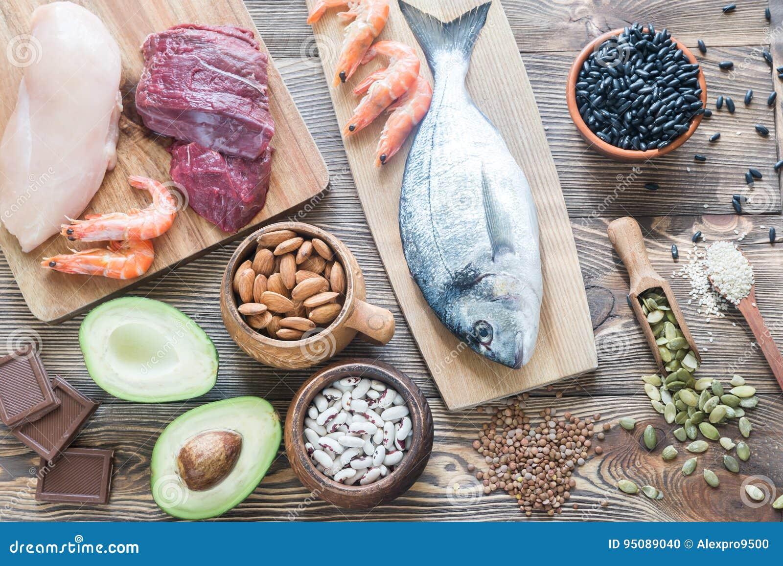 Fontes do alimento de zinco