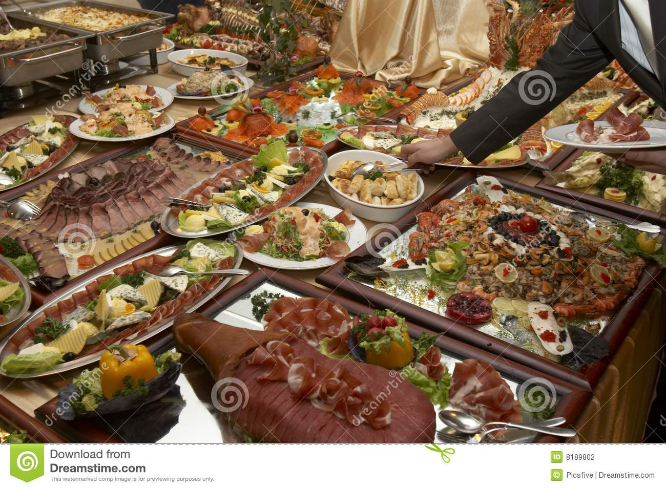 Food arrangement 4 stock photo image of eating healthy for Arrangement petite cuisine