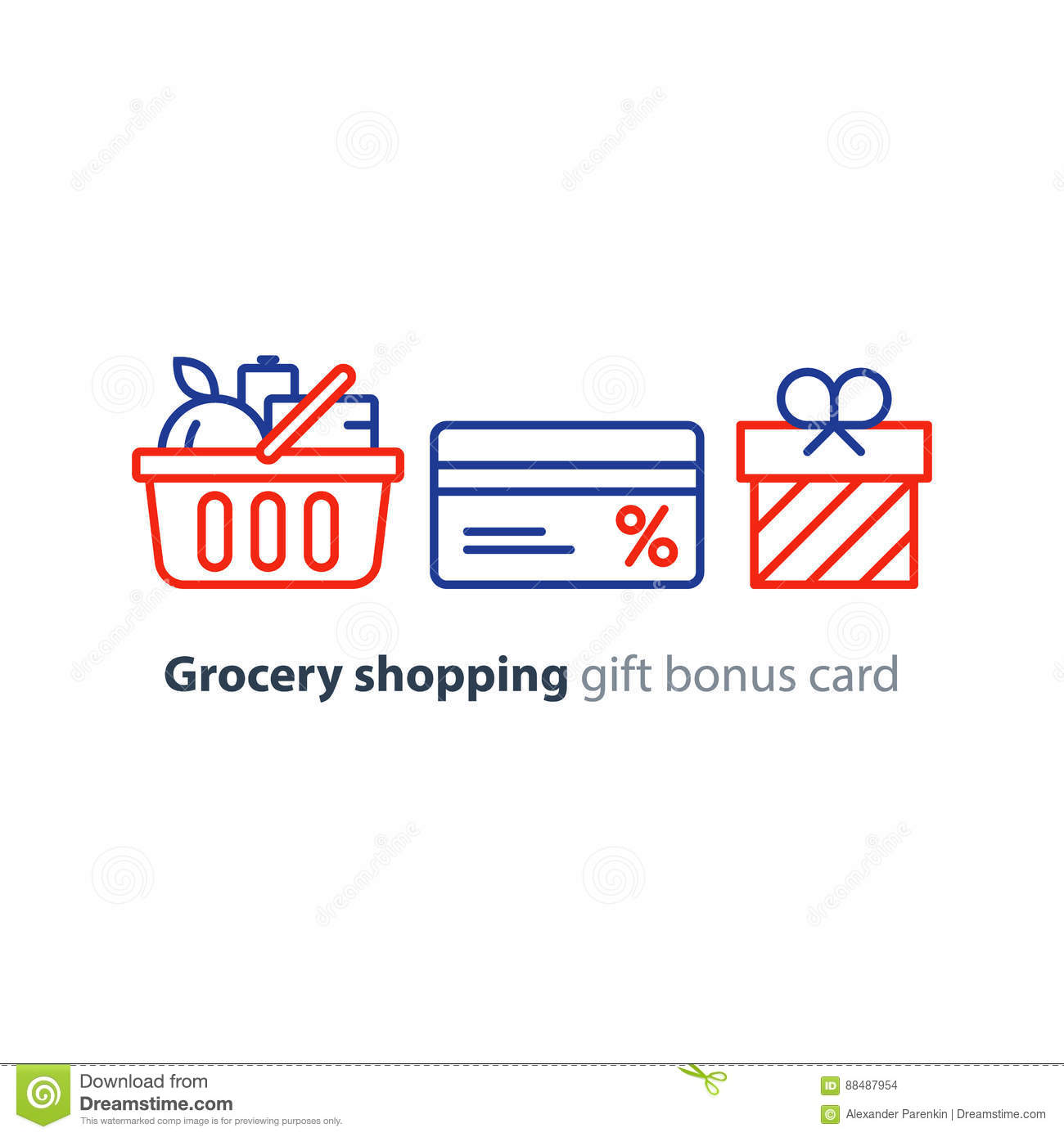 Grocery coupons store card