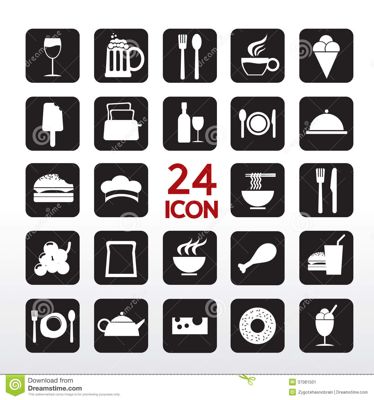 Food And Beverage Icon.