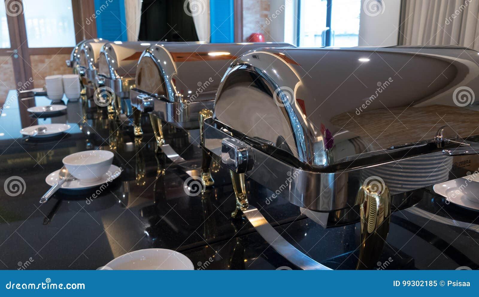 Food buffet catering indoor in luxury restaurant in hotel for we