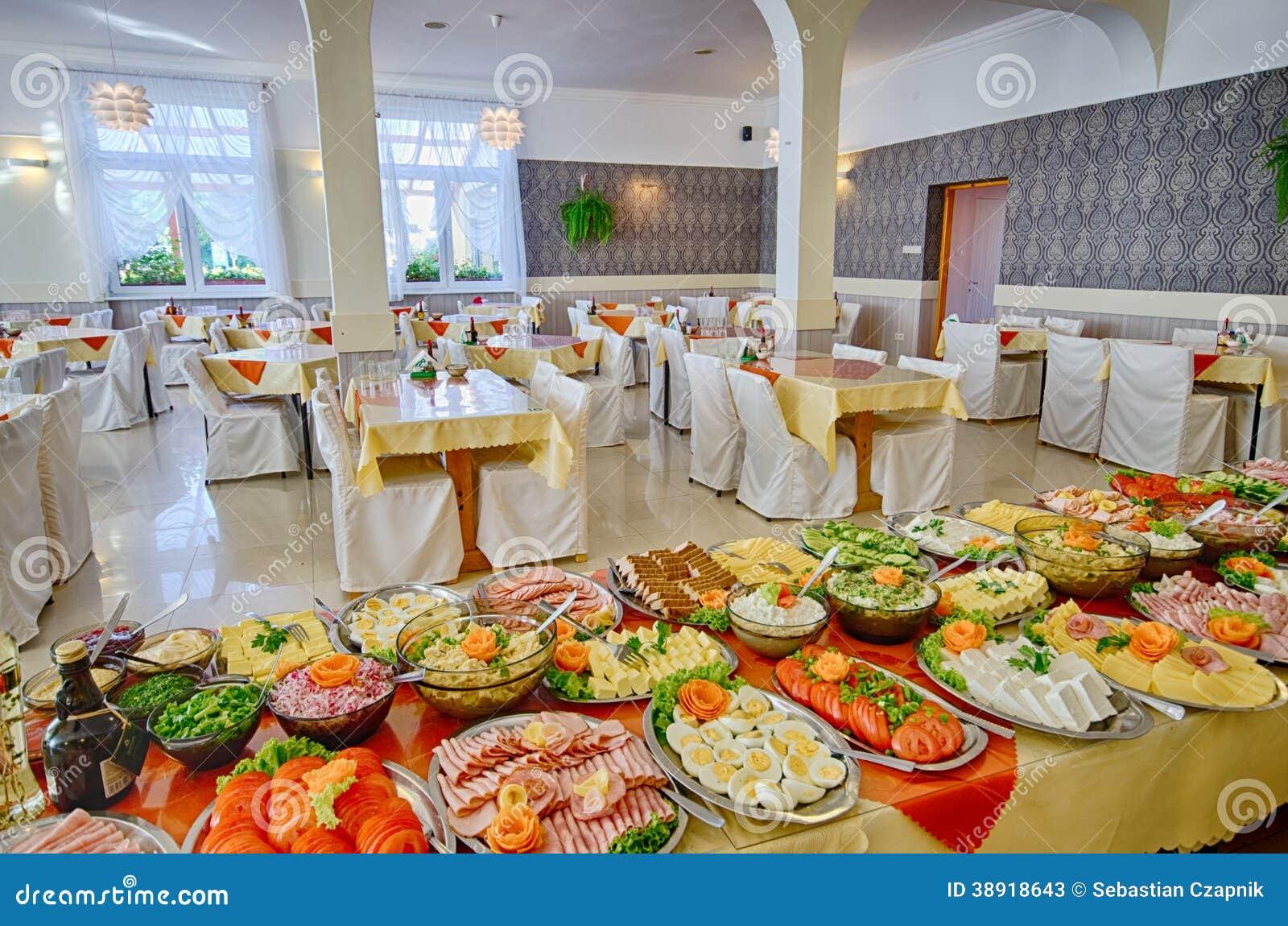Food Buffet Stock Photo Image 38918643
