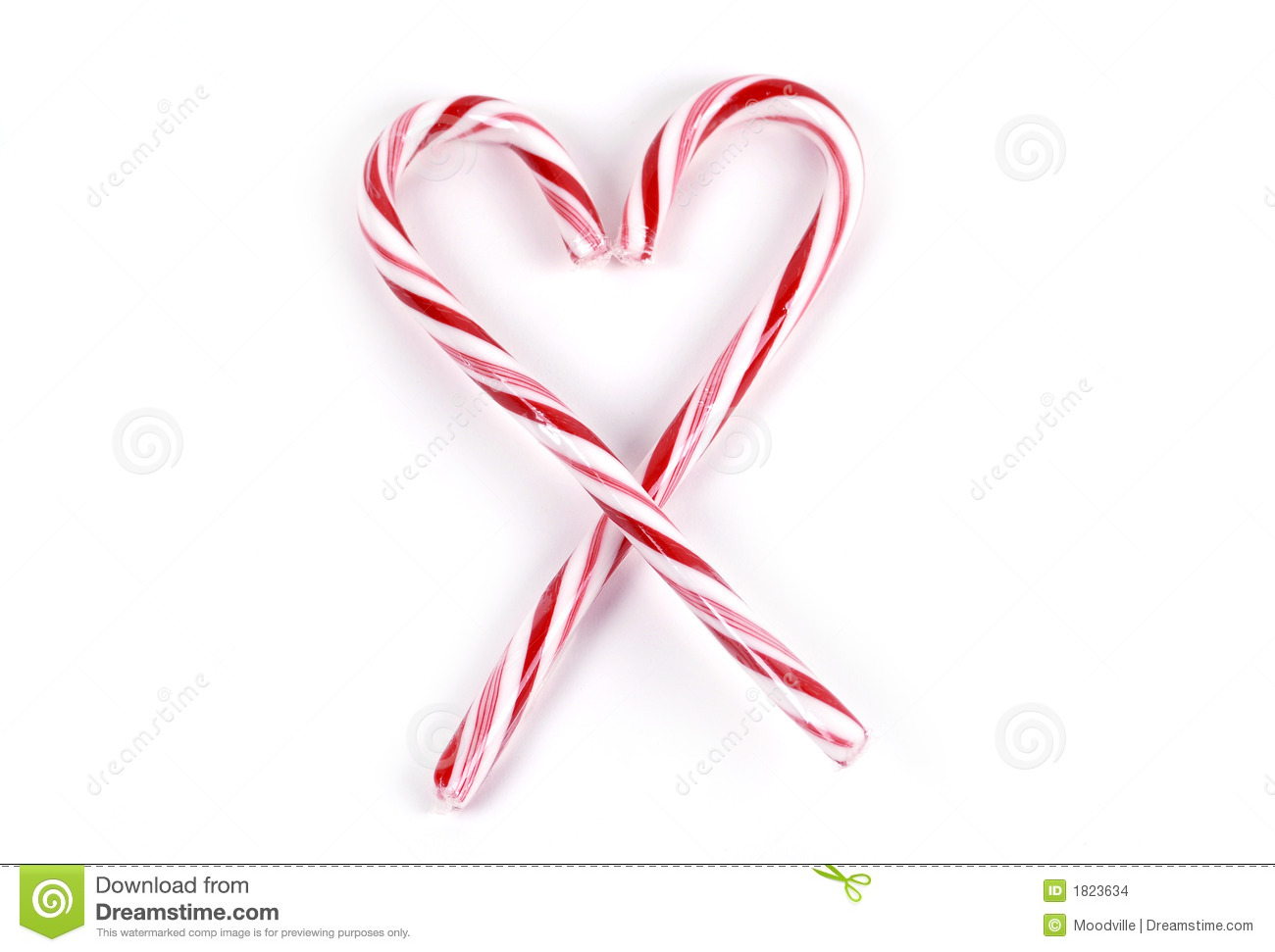 Food candy cane heart stock photo image of treat