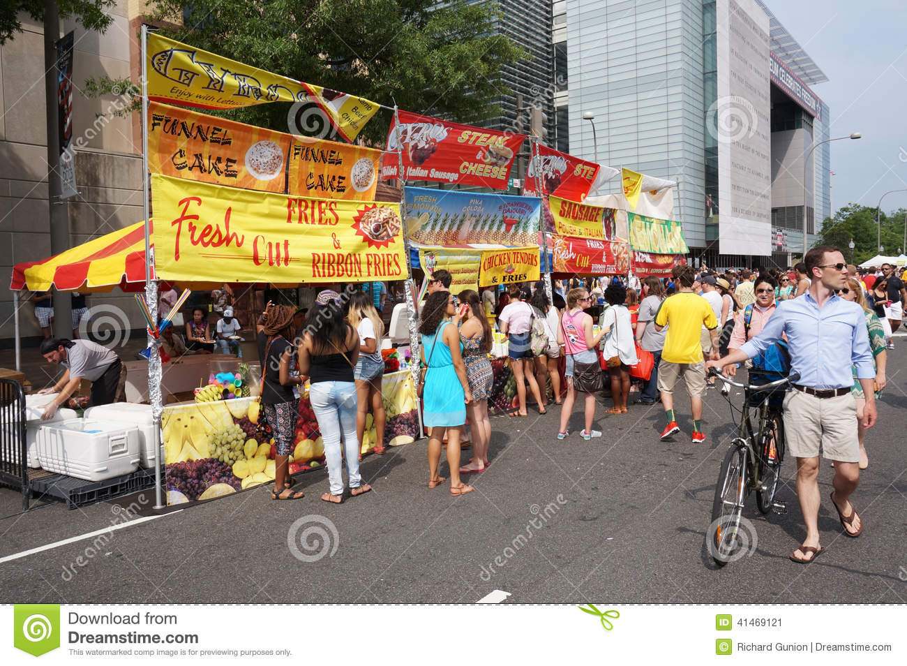 Food at the Capital Pride Festival & Food At The Capital Pride Festival Editorial Photo - Image of ...