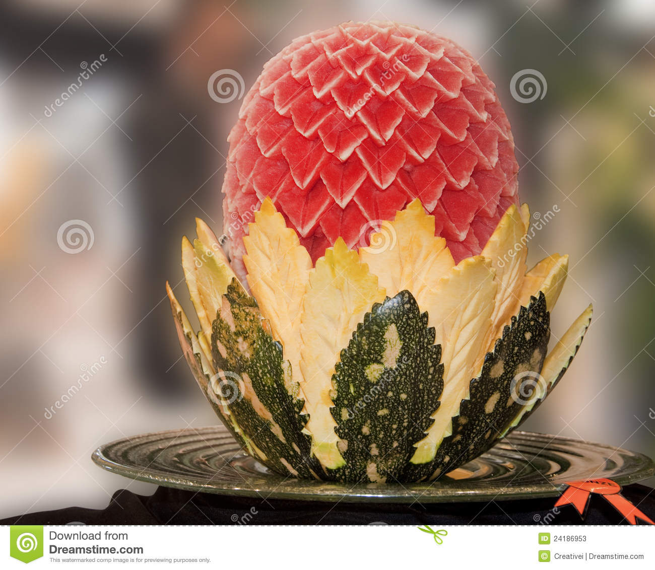 Food carving stock photos image
