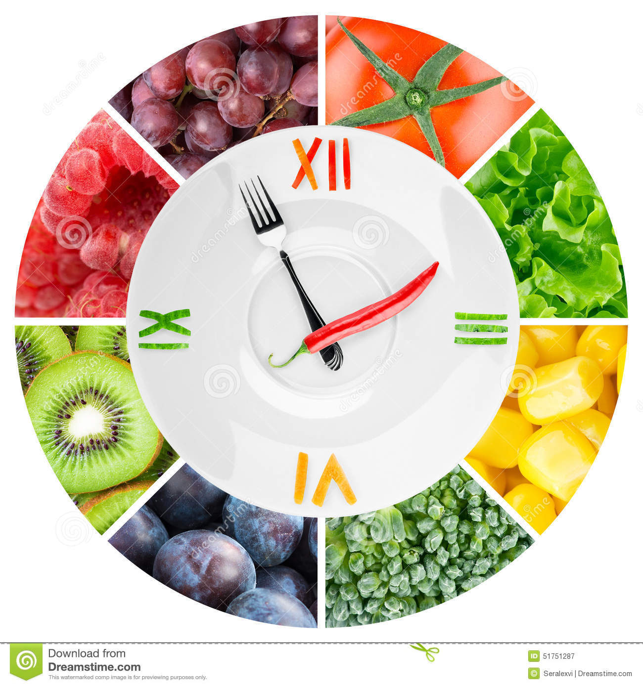 food clock with vegetables and fruits stock photo image alarm clock clipart black and white alarm clock clipart black and white