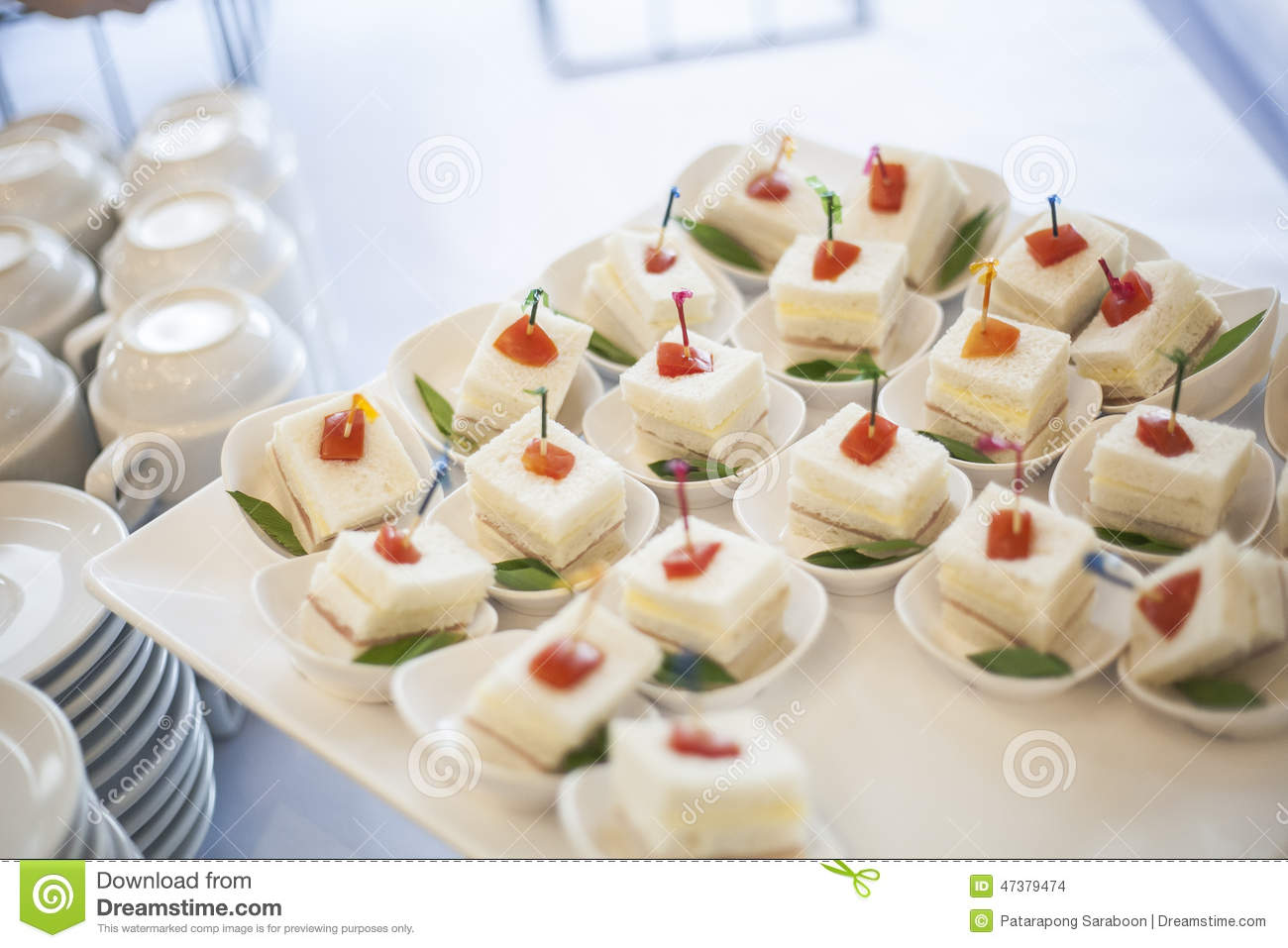 Food Cocktail In Party Stock Photo Image 47379474