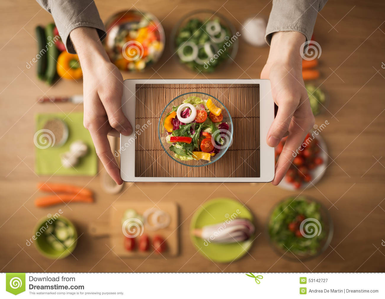 Food and cooking app on digital tablet stock image image of food food and cooking app on digital tablet royalty free stock photo forumfinder Gallery