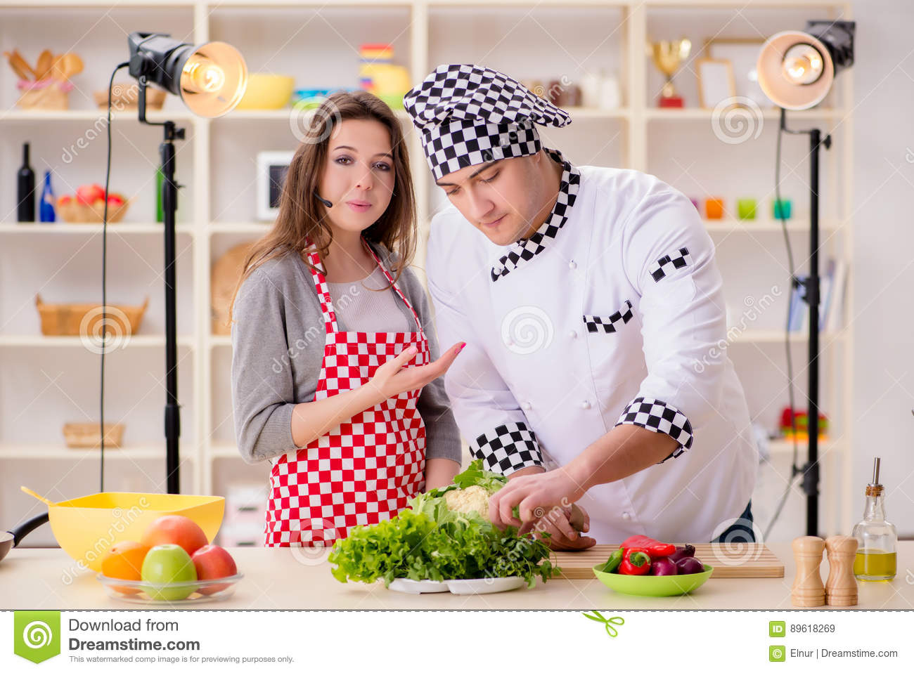 tv cooking show