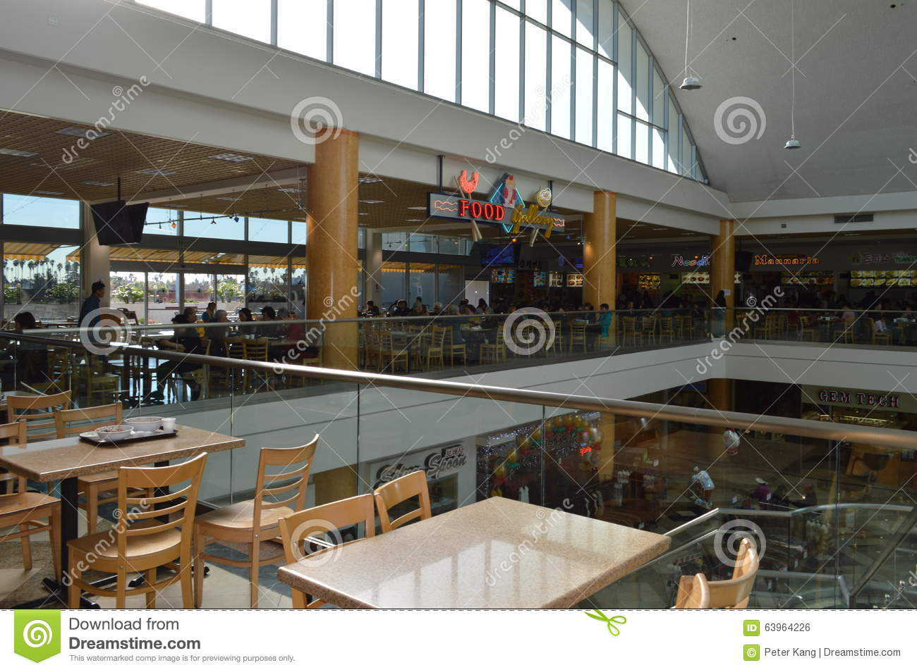 Sherman Oaks Mall Food Court