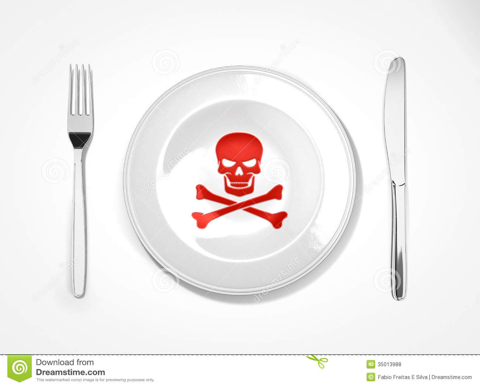 Food Dangerous Royalty Free Stock Photos Image 35013988