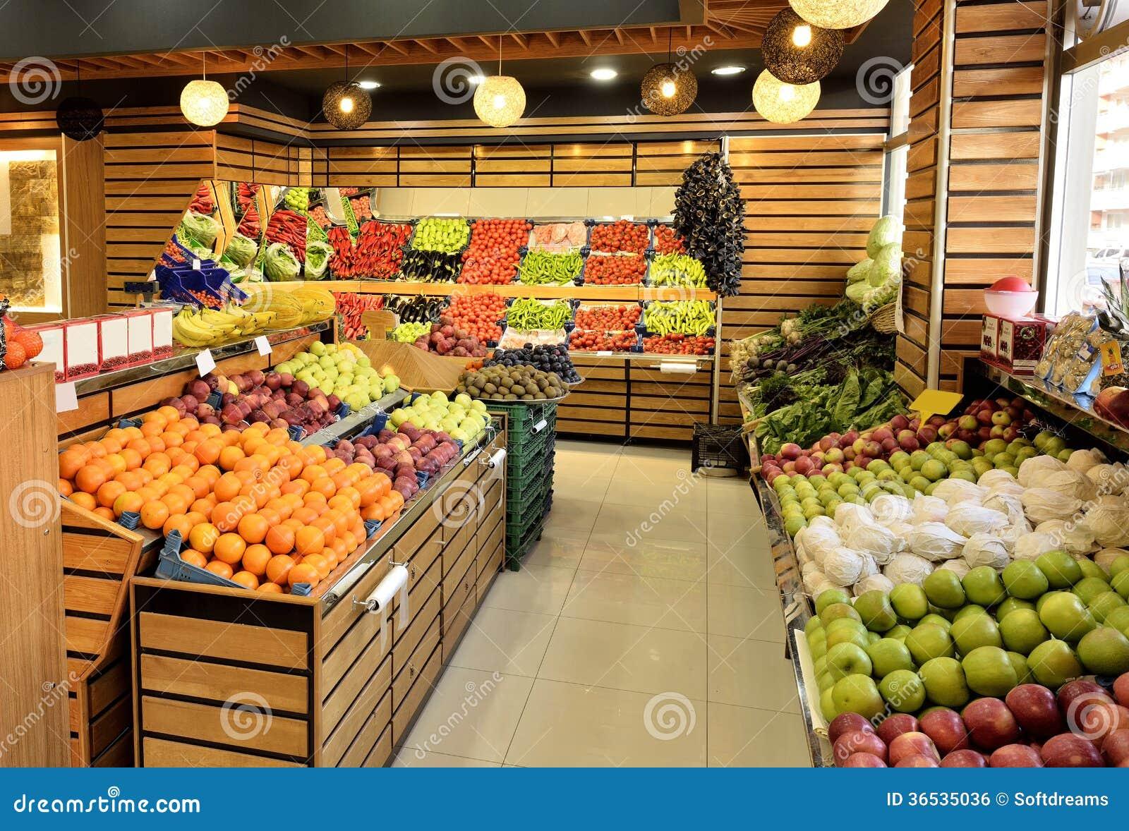 Asian food department supermarket