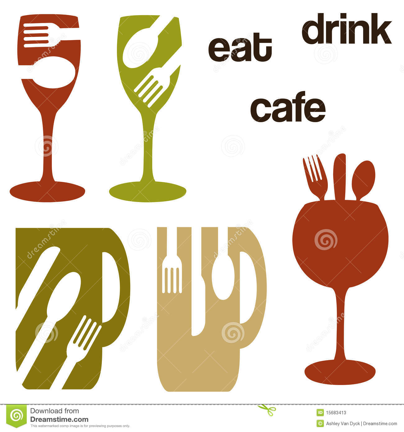 food and drink concept graphics stock illustration illustration of